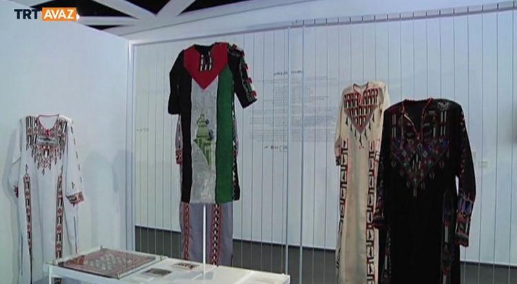 Filistin Nakışları Beyrut'ta Sergileniyor (video)