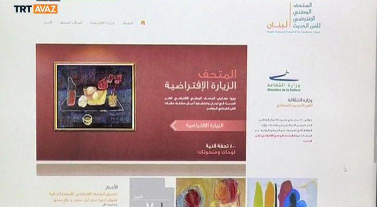 Lübnan'ın İlk Ulusal Sanat Müzesi Sanal Âlemde Açıldı (video)