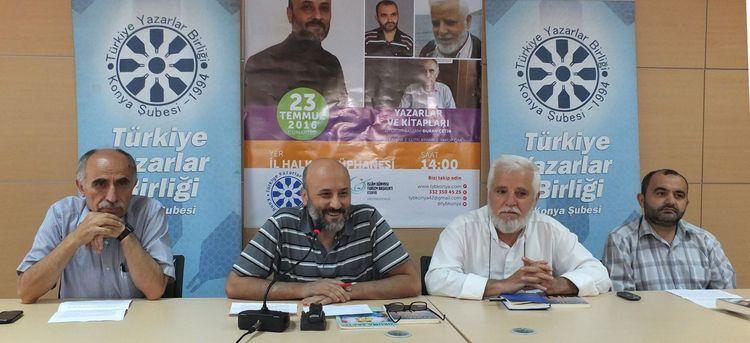 Konyalı 3 yazar yazma serüvenlerini anlattı