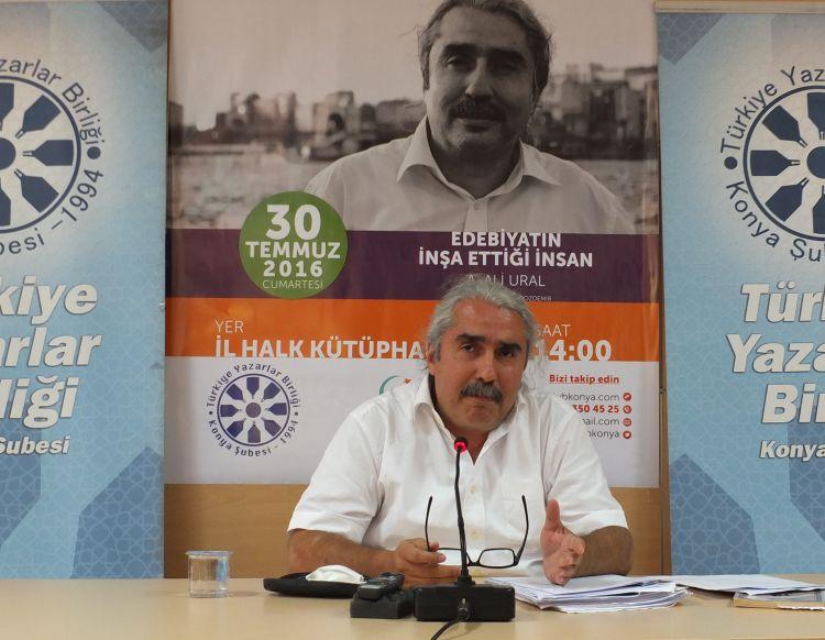 Ali Ural Konya'da konuştu