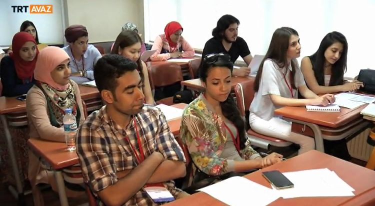 2016 Türkçe Yaz Okulu Başladı (video)