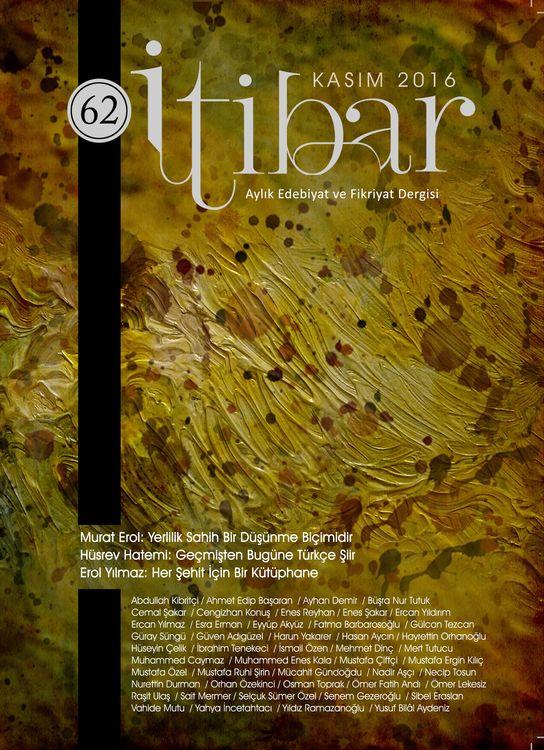 İtibar dergisinin 62. sayısı çıktı
