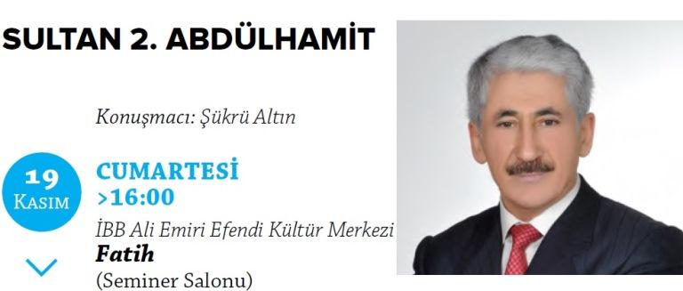 Sultan 2. Abdülhamit'i anlatacak