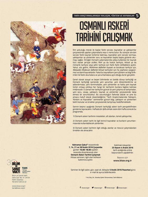 Osmanlı Askeri Tarihini Çalışmak
