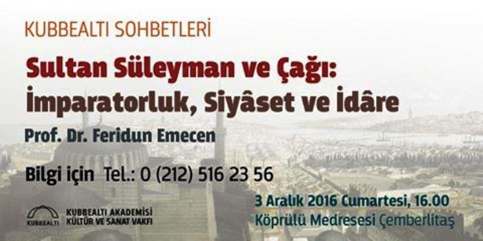 Sultan Süleyman ve Çağı