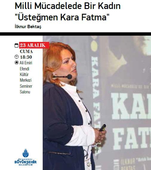 Üstteğmen Kara Fatma'yı anlatacak