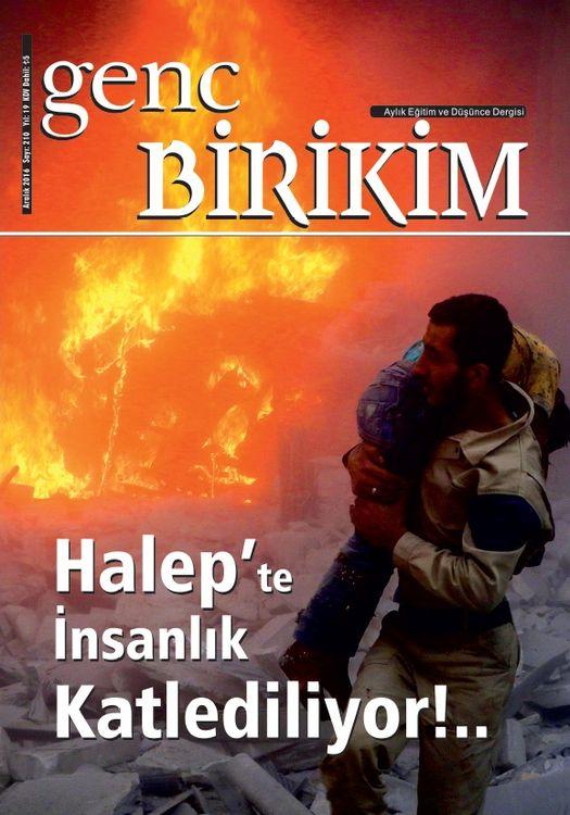 Genç Birikim dergisinin 210. sayısı çıktı
