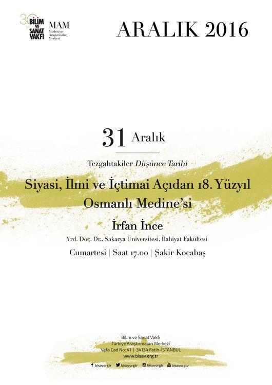 Siyasi, İlmi ve İctimai Açıdan 18. yy. Osmanlı Medine'si