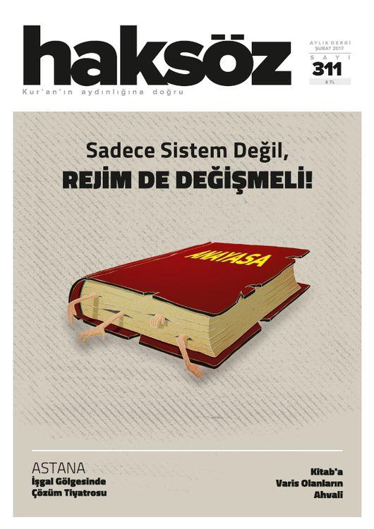 Haksöz dergisinin 311. sayısı çıktı