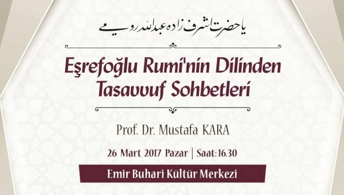 Eşrefoğlu Rumi'nin Dilinden Tasavvuf Sohbetleri