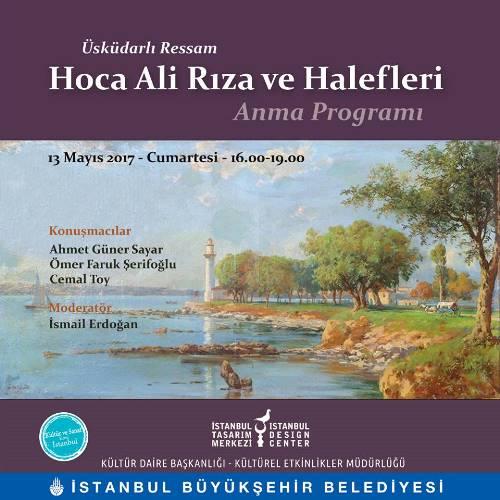 Üsküdarlı Ressam Hoca Ali Rıza ve Halefleri