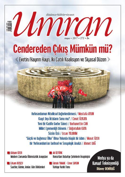 Umran dergisinin 273. sayısı çıktı