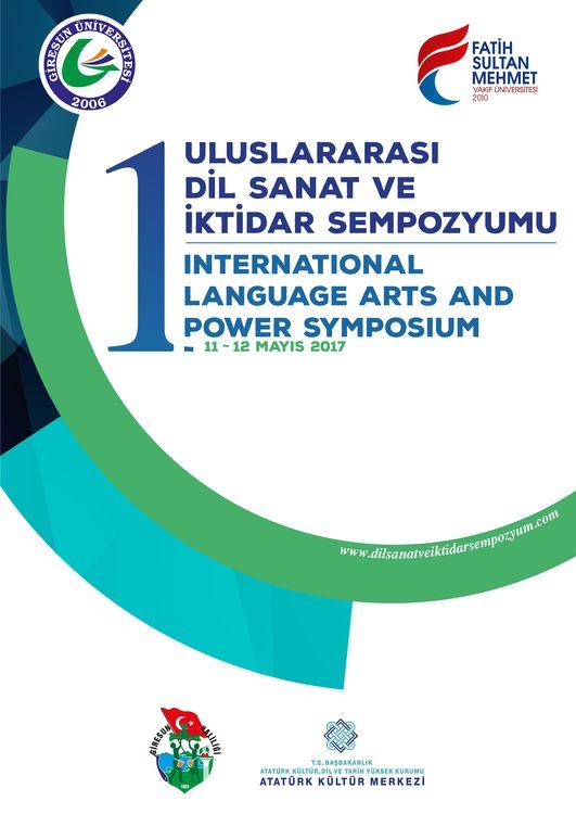 1. Uluslararası Dil Sanat ve İktidar Sempozyumu