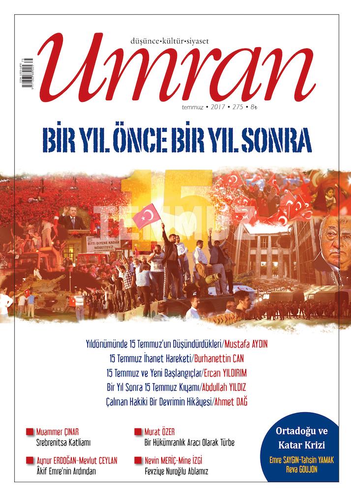 Umran Dergisi'nin Temmuz 2017 Sayısı