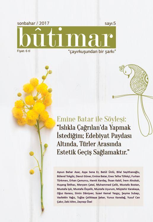 Bûtimar dergisinin 5. sayısı çıktı