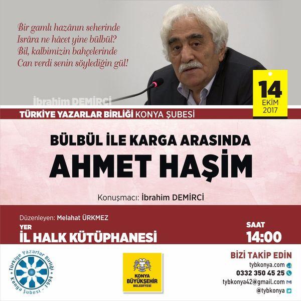 Bülbül ile Karga Arasında Ahmet Haşim