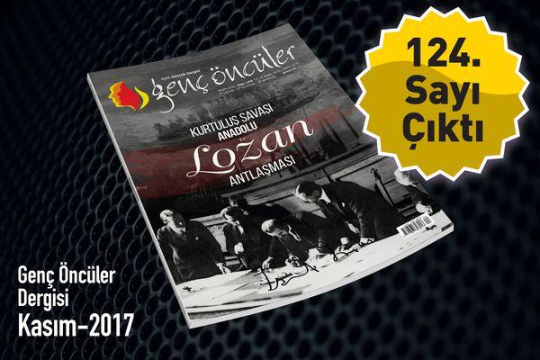 Genç Öncüler dergisinin 124. sayısı çıktı