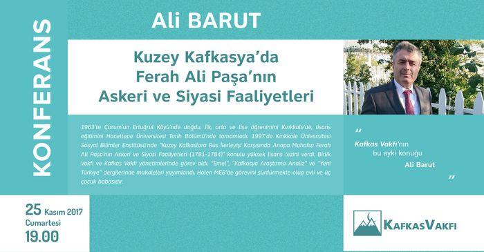 Kuzey Kafkasya'da Ferah Ali Paşa'nın Askeri ve Siyasi Faaliyetleri