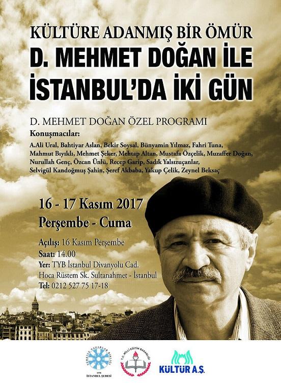 D. Mehmet Doğan ile İstanbul'da İki Gün