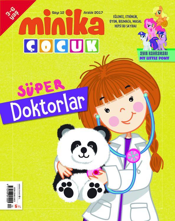 MinikaÇocuk dergisinde bu ay doktorlar var