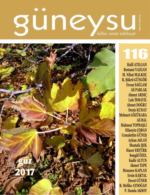 Güneysu dergisinin 116. sayısı çıktı