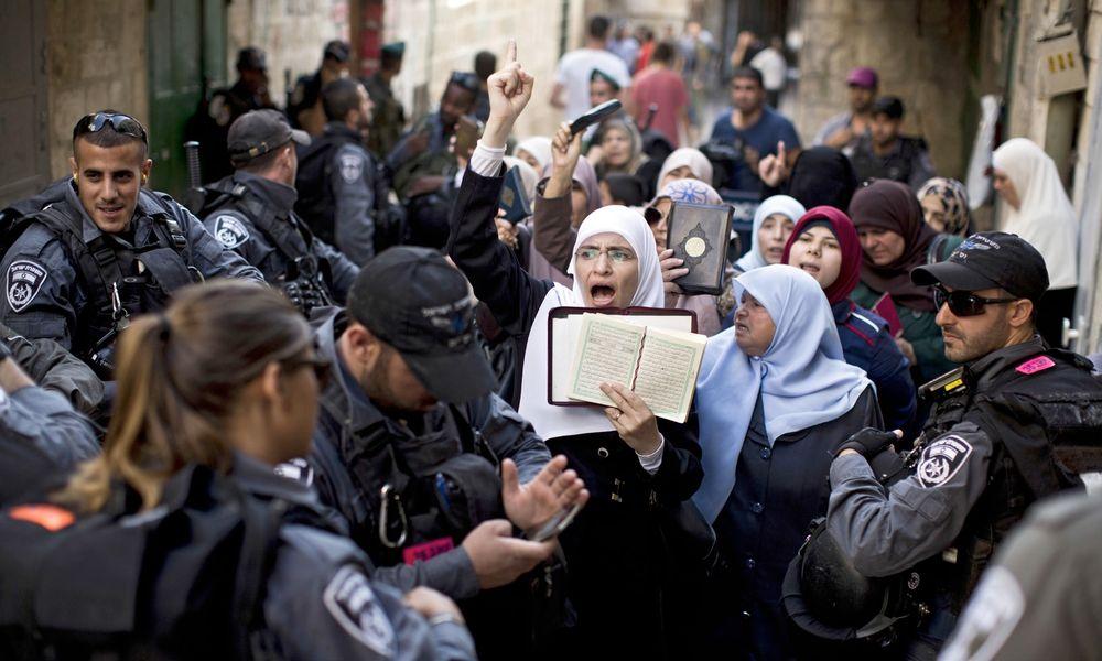 Kudüslü kadınların hayatı tamamen sabır ve cihattan ibaret