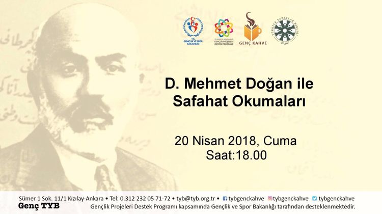 D. Mehmet Doğan ile Safahat Okumaları