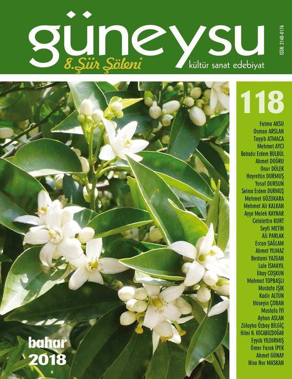 Güneysu dergisinin 118. sayısı çıktı