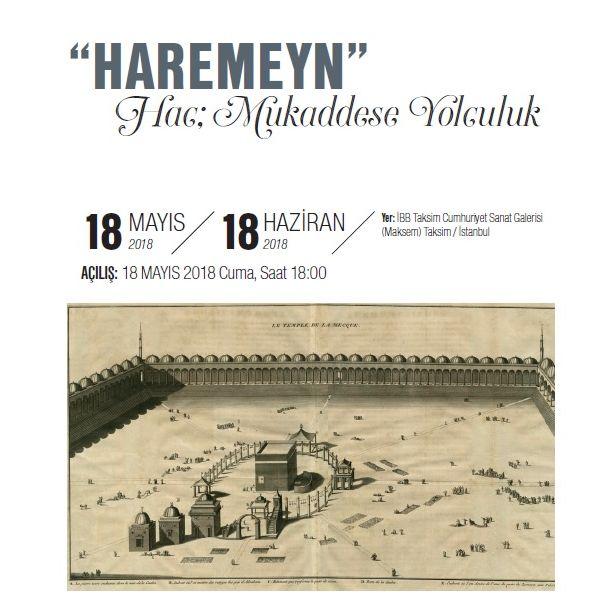 Taksim'de 'Haremeyn' Sergisi