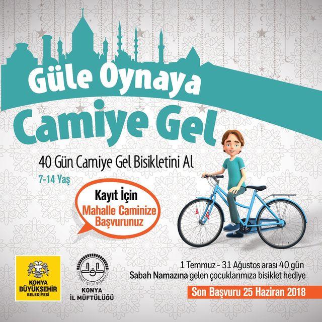 Konya'da Çocuklara Yönelik Örnek Proje: Güle Oynaya Camiye Gel
