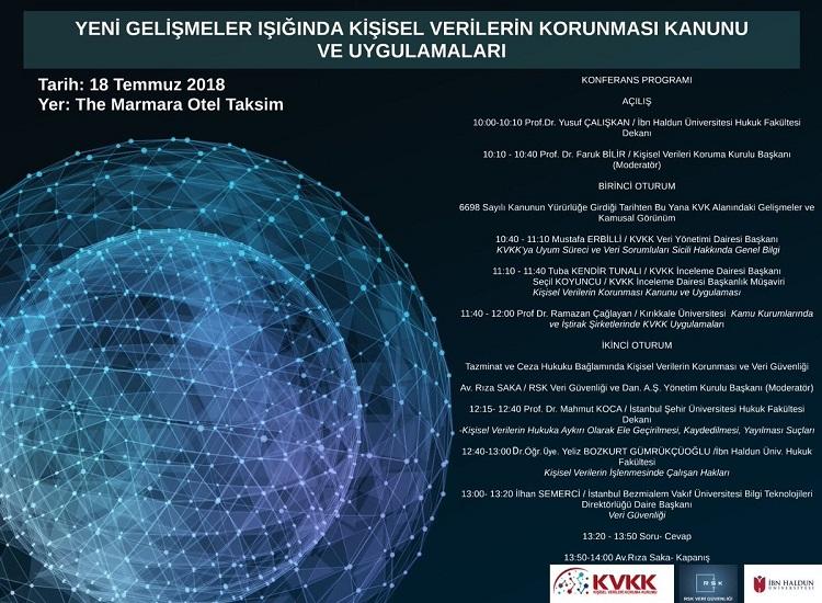 İbn Haldun Üniversitesi'nden Kişisel Verilerin Korunmasına Yönelik Konferans