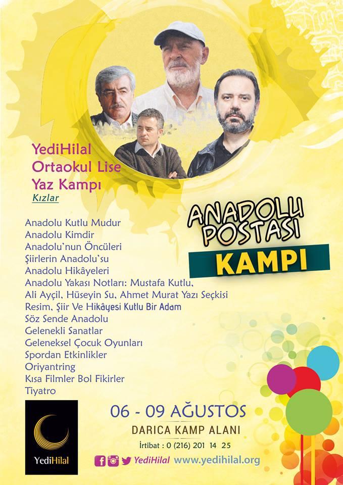 YediHilal Derneği'nin Organize Ettiği Anadolu Postası Kampı İçin Kayıtlar Başladı