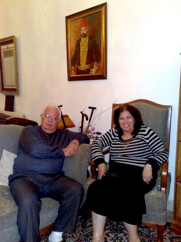 Halil Bey ve eşi Raşha Hanım