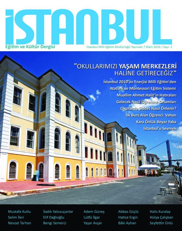 İstanbul Eğitim ve Kültür, Sayı:1