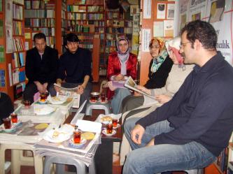 Erzurum'da Cafcaf rüzgârı esti