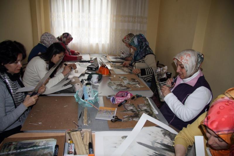 Nersrin Çaylı Sanat ve Okuma Evi - Hanımlar