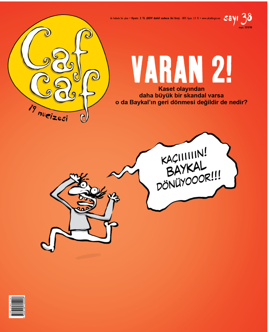 CafCaf Sayı:38