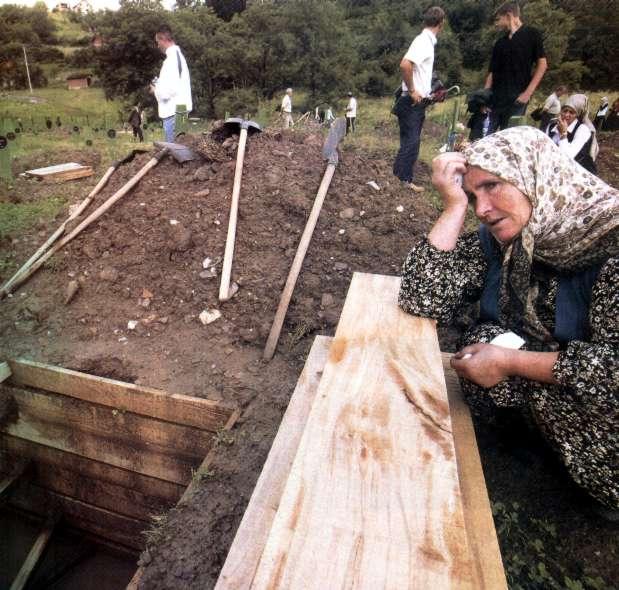 Srebrenica'da bir anne