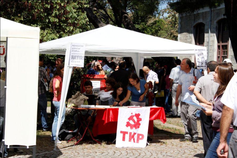 Boğaziçi Üniversitesi TKP'nin çiftliği mi?