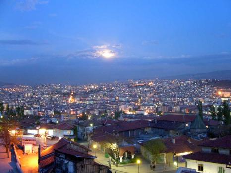 Ankara'da yaz sonu akşamı