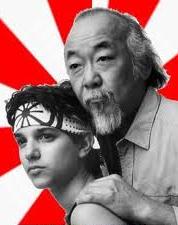 Karate Kid ve hocası