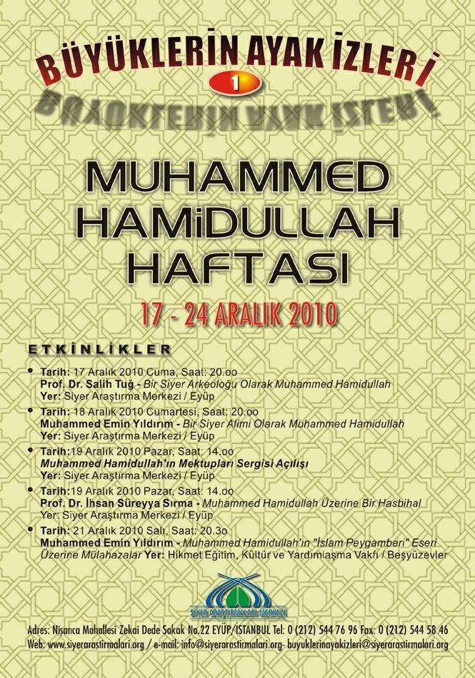Muhammed Hamidullah Haftası