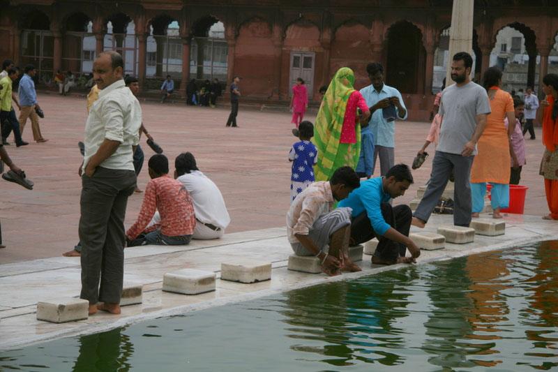 Yeni Delhi, Cuma Mescidi