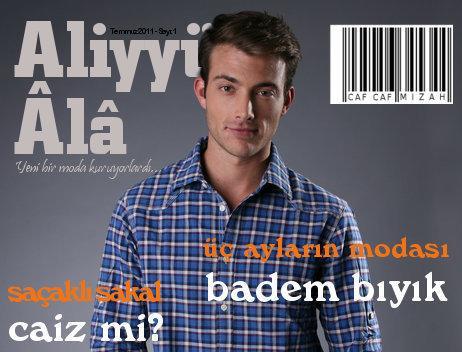 5ed9d80c67782 Dindar şehirli erkeğin dergisi çıktı! - Dünya Bizim Kültür Portalı