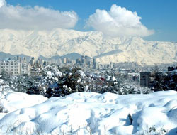 Tahran'dan geliyorum.