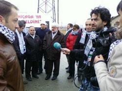 Umutla heyecanla Filistin yolunda!
