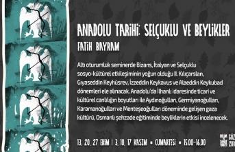 Anadolu Tarihi: Selçuklu ve Beylikleri seminerleri
