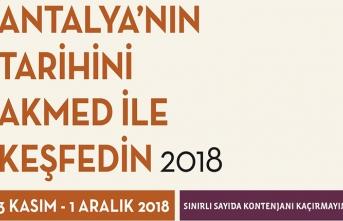 Antalya'nın Tarihini AKMED ile keşfedilecek