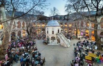 Bursa'yı tekstil kenti yapan mekan: Kozahan