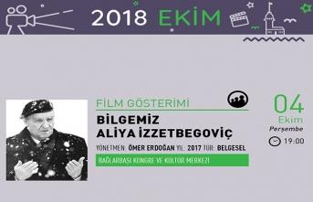 Aliya İzzetbegoviç film gösterimi